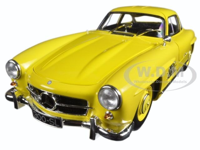 1954 MERCEDES 300 SL GULLWING W198 I  jaune LTD 333 1 18 BY MINICHAMPS 180039009  marque de luxe