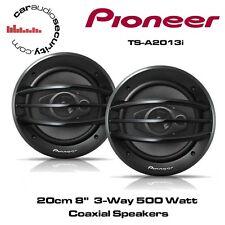 """Pioneer TS-A2013i - 20cm 8""""  3-Way 500Watt Coaxial Speakers"""
