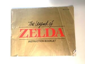 The Legend of Zelda Original Nintendo Instruction Booklet Manual NES-ZL-USA-1