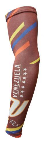 ADULT /& KIDS VENEZUELA FLAG COMPRESSION ARM SLEEVE VINOTINTO SUBLIMATED