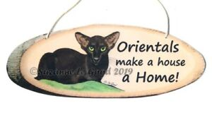 Oriental-Cat-Havana-art-painting-sign-from-original-by-Suzanne-Le-Good
