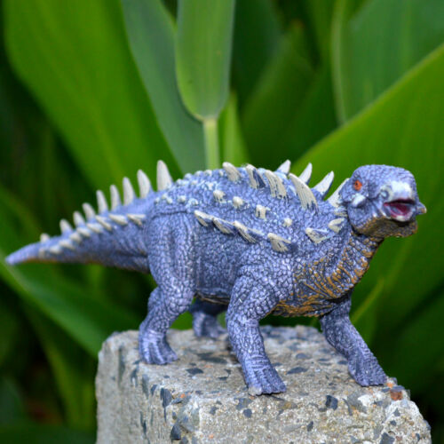 2018 Ankylosaurus Solid Plastic Dinosaur Figure Toy Model Best Gift For Kids