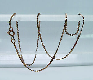 Russian Vintage 14k Rose Gold Chain Necklace 16 5 Ussr Hammer And Sickle Ebay