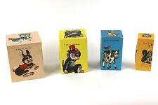 Vintage Cardboard Block Toy w Squeakers