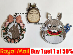 Neighbour Totoro Patch Badges Iron On Sew On