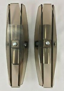 Pair-of-Bracket-Glass-Smoke-a-Swathes-Cuts-1960-Fontana-Arte-Vintage-B1256