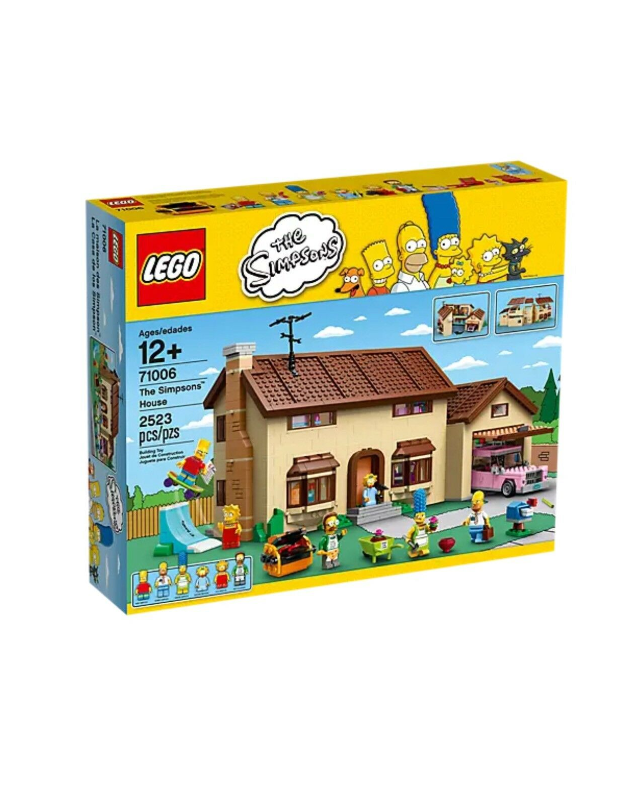 Lego The Simpsons 71006 The Simpsons House New Seaed Pensionerad