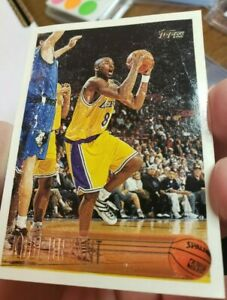 KOBE-BRYANT-ROOKIE-CARD-1996-97-Topps-138-Lakers-NBA-HOF-RC-non-auto-Read