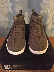 the best attitude 9cf18 cd611 Details about Air Jordan 15 Retro WVN PSNY Olive Green Woven AO2568 200 Sz 8