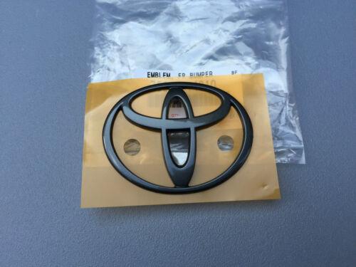 Toyota supra mk4 año a partir de parachoques 1993 emblema logotipo delante en negro
