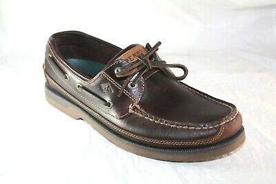 Sperry Men/'s Mako 2-Eye Boat Shoe Amaretto 11 M US