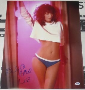 Kelly-LeBrock-Signed-Weird-Science-16x20-Photo-PSA-DNA-COA-Poster-Picture-Auto-039-d