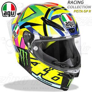 CASCO-INTEGRALE-RACING-MOTO-AGV-PISTA-GP-R-CARBONIO-VALENTINO-ROSSI-46-SOLELUNA