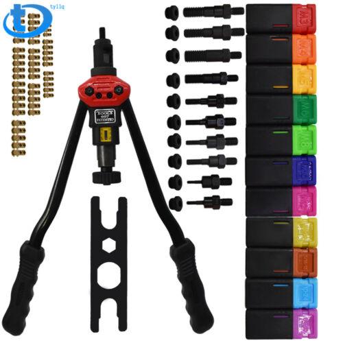 16/'/' Rivet Gun Kit Rivnut Thread Setting Tool Nut Setter Nut Sert Metric SAE