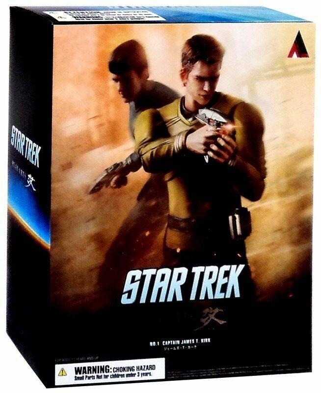 Square Enix Star Trek  Play Arts Kai Captain Kirk Action Figure nouveau - Authentic  magasin d'usine