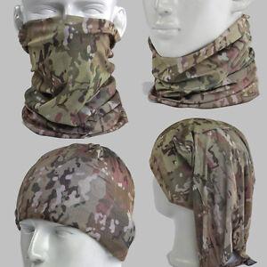 Mulitcam Camo Camoufalge Multi Scarf Neck Bandana Mask Skull Heardwear Tubu A011