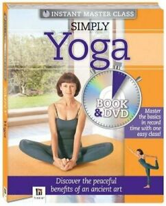 simply yoga book and dvd pal instant master class book