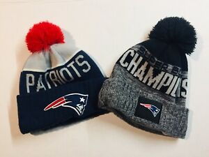 35c755206ee New England Patriots New Era Knit Super Bowl LIII Champions Parade ...