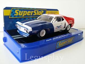 Slot-SCX-Scalextric-Superslot-H3875-AMC-Javelin-1972-Trans-Am-RWR-1972-G-Follmer