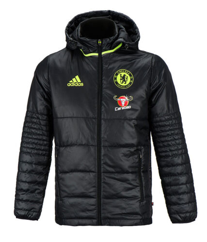 Entrenamiento Fc Chelsea Parka Coat Adidas Fútbol Ap5602 acolchada Fútbol Chaqueta Warm PgfwO