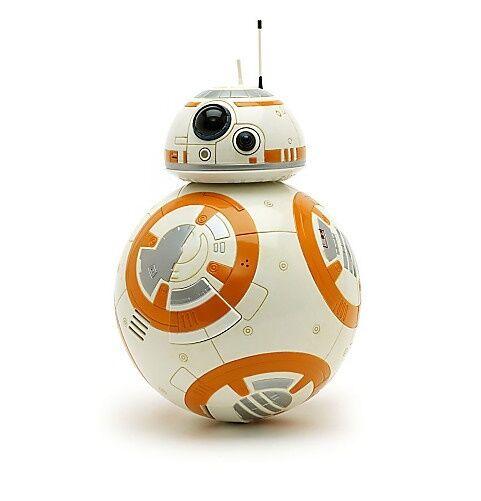 "Disney Store Star Wars Force Awakens BB-8 Robot BIG Talking Figure Toy 9 1/2"""