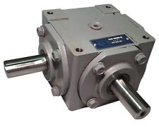 40 Hp Right Angle Bevel Gearbox With 2 Keyed Shafts Cwcw 11