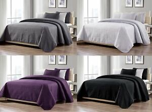 3-Piece-New-Linen-Plus-Collection-Over-size-Bedspread-Coverlet-Set-4-COLORS