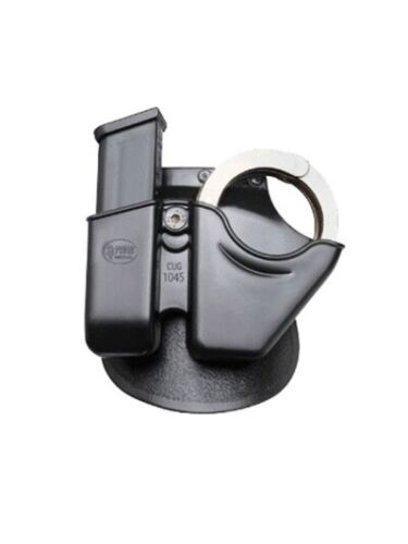CUG 10//45 Combo Pouch 45mm.Glock Mag S/&W Model 100 Chain-Linked Handcuffs