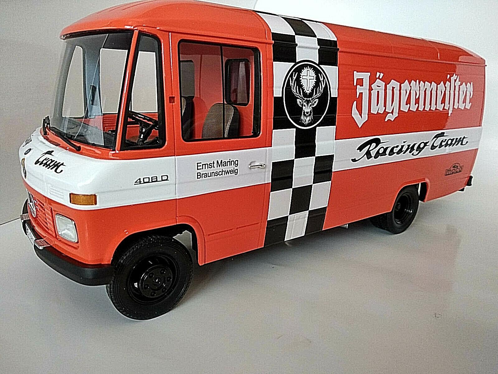 Camion team course Jagermeifter au 1 18eme neuf longueur 33cm superbe