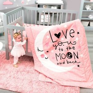 Image Is Loading Limited Edition Moon And Stars Baby S Crib