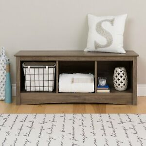 Magnificent Details About Storage Bench Entryway Foyer Mudroom Shoe Cubby Organizer Sitting Benches Wooden Ncnpc Chair Design For Home Ncnpcorg