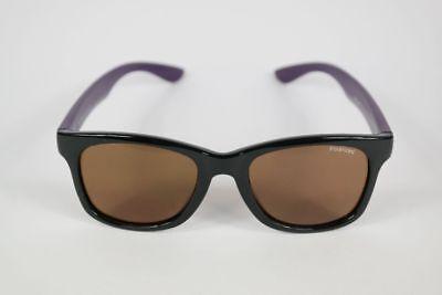 Costruttivo Braunwarth Polarized 15-480001 47 [] 19 Nero/viola Ovale Bambini Occhiali Da Sole Nuovo-mostra Il Titolo Originale