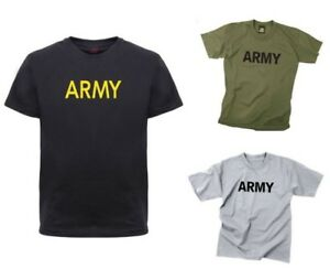 13902218 Image is loading Kids-Army-Physical-Training-T-Shirt-Military-Rothco-