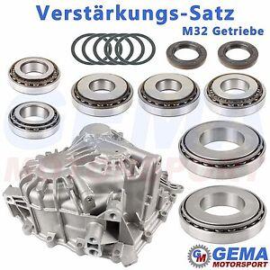Verstaerkungs-Satz-M32-Getriebe-groessere-Lager-Gehaeuse-Simmeringe-alle-bis-Mj-2012