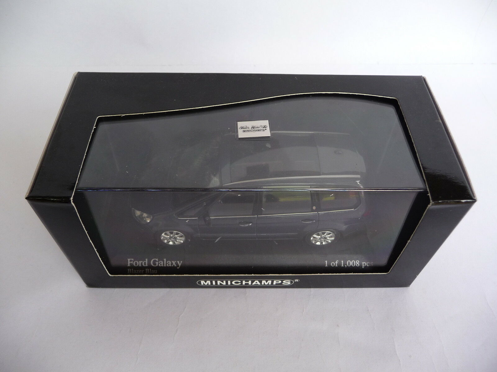 Minichamps 1 43 Ford Galaxy 2006 bluee 085302
