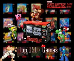 Super-Nintendo-Classic-Edition-Console-SNES-Mini-Entertainment-System-350-Games