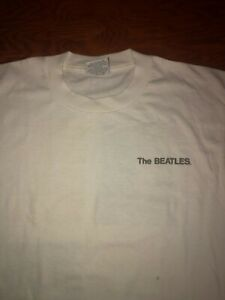 the beatles white t shirt