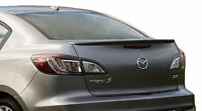 MAZDA 3 FACTORY STYLE LIP UNPAINTED REAR WING SPOILER 2010-2013