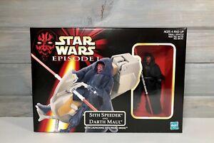 Star-Wars-Episode-1-Sith-Speeder-and-Darth-Maul-w-Launching-Probe-Droid-NIB