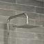 Bathroom-Thermostatic-Mixer-Shower-Set-Square-Chrome-Twin-Head-Exposed-Valve thumbnail 4