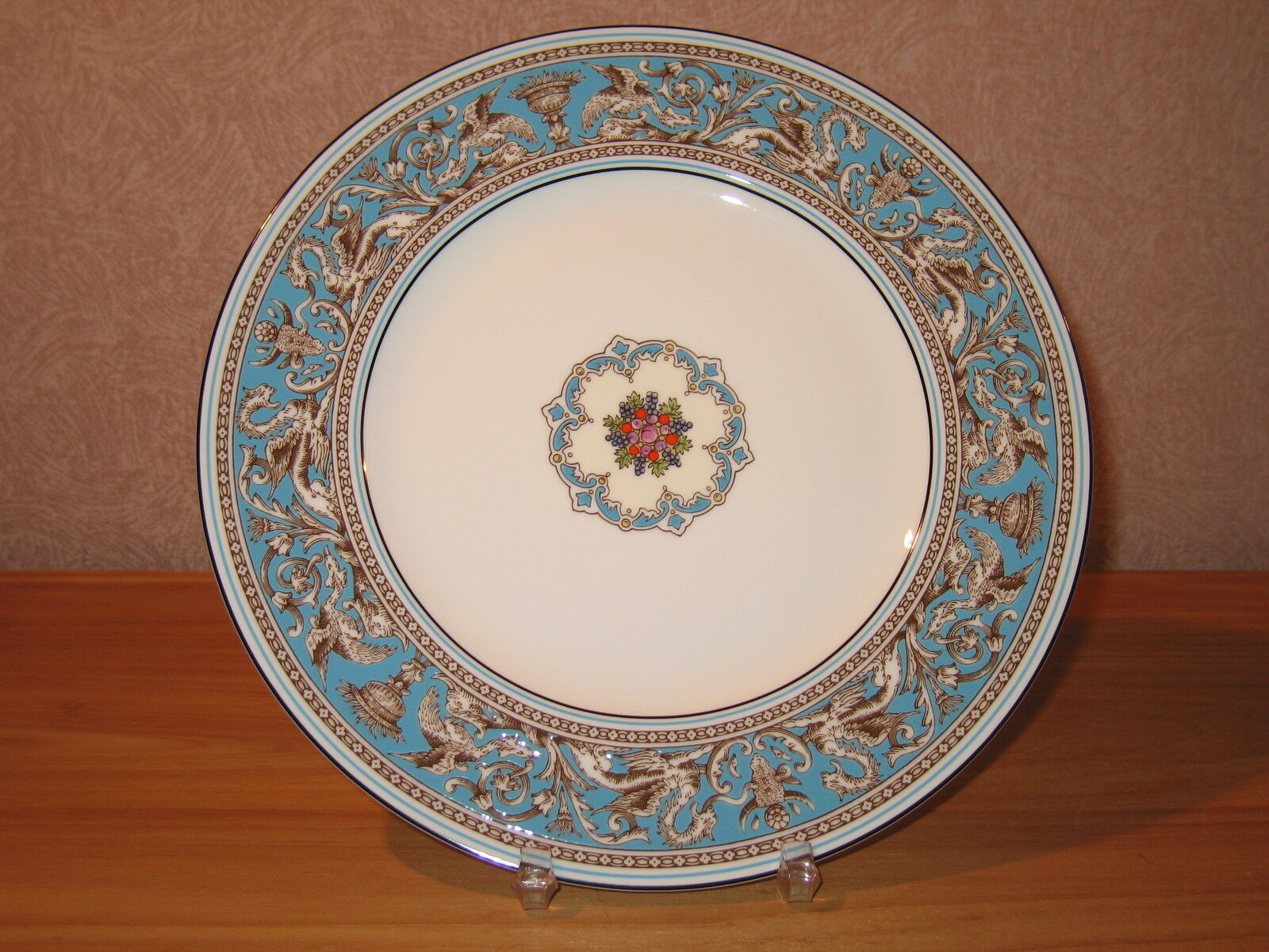 Wedgwood NEW Florentine Turquoise 501026 Assiette plate 27cm 1004 1 Plate