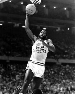 1981 North Carolina Tar Heels JAMES WORTHY Glossy 8x10 Photo Basketball Print