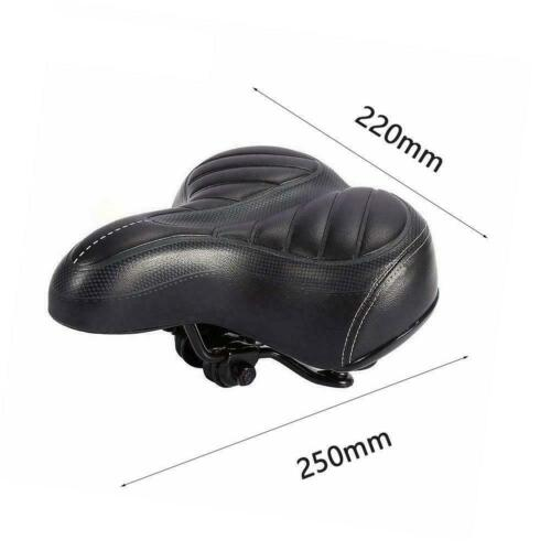Comfort Wide Big Bum Bike Bicycle Gel Cruiser Extra Pad Soft Seat Saddle