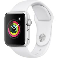 Deals on Apple Watch Series 3 GPS 38mm Sport Band Aluminum Case