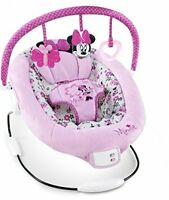 Disney Minnie Mouse Bouncer, Babies Stuff Infants Nursery Furniture Girls Pink