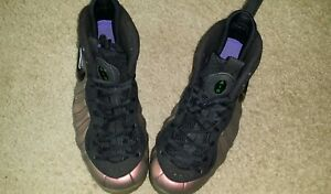 624041 Size Perfecto estado Green 10 Pro Nike Black gym 302 Foamposite SqFzE0