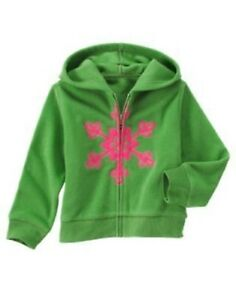 GYMBOREE-CHEERY-ALL-THE-WAY-SNOWFLAKE-FLEECE-HOODED-JACKET-5-6-7-8-10-12-NWT