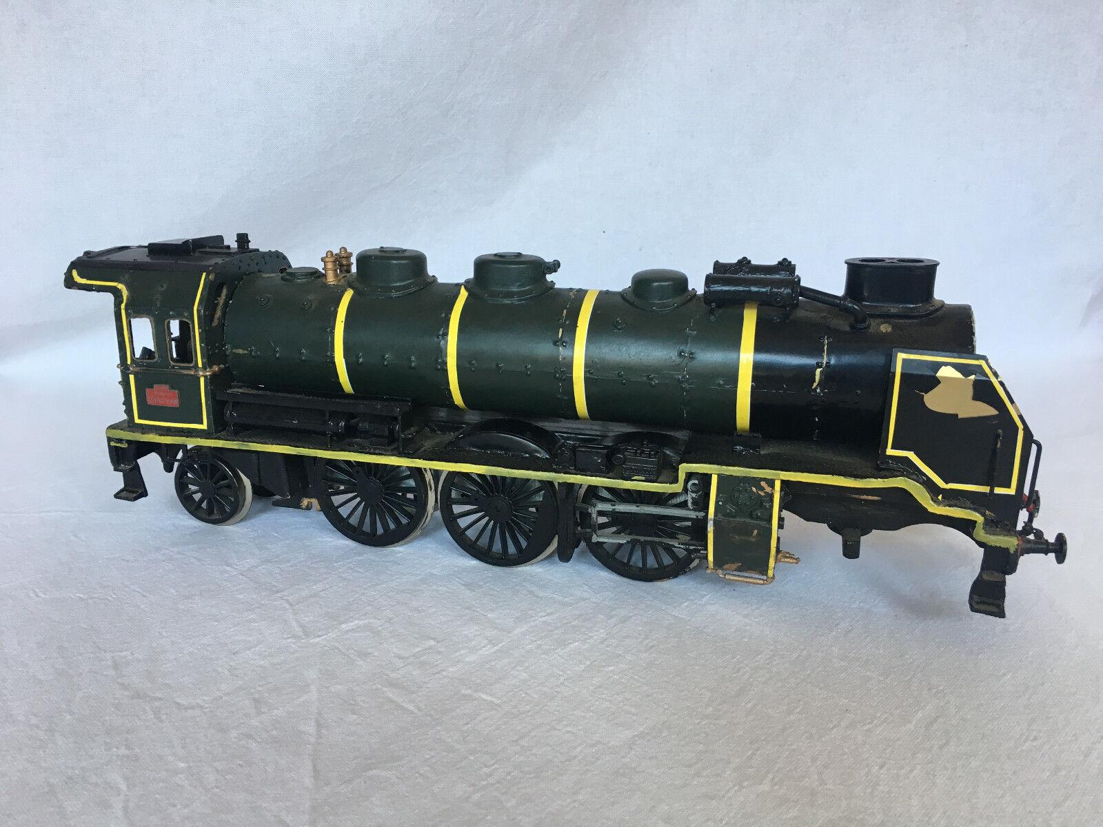 Model locomotive sncf old 231 g 558 large c1147 plastic wood