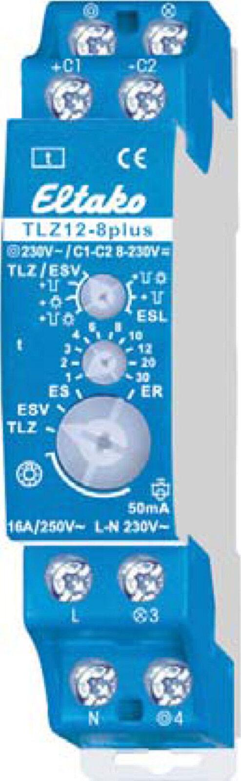 Eltako TLZ12-8PLUS Treppenlicht-Zeitschalter 230V, 16 A, - neu  | Outlet Store