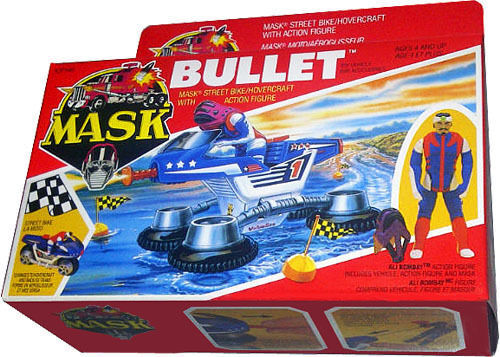 Details about M A S K  MASK Kenner - Bullet Vintage 1986 - Collectible MISB  NEW!! AFA IT!
